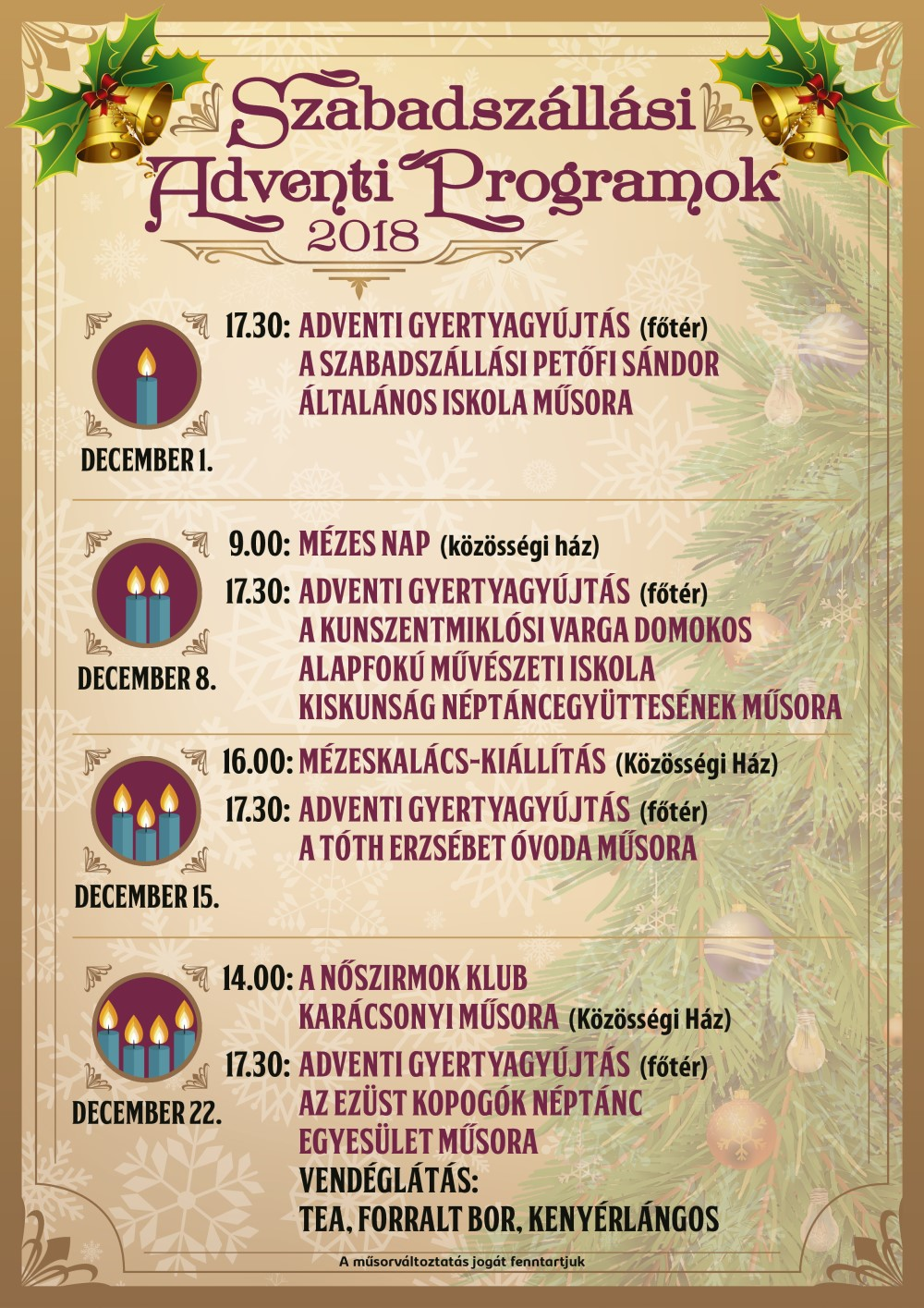 advent plakat